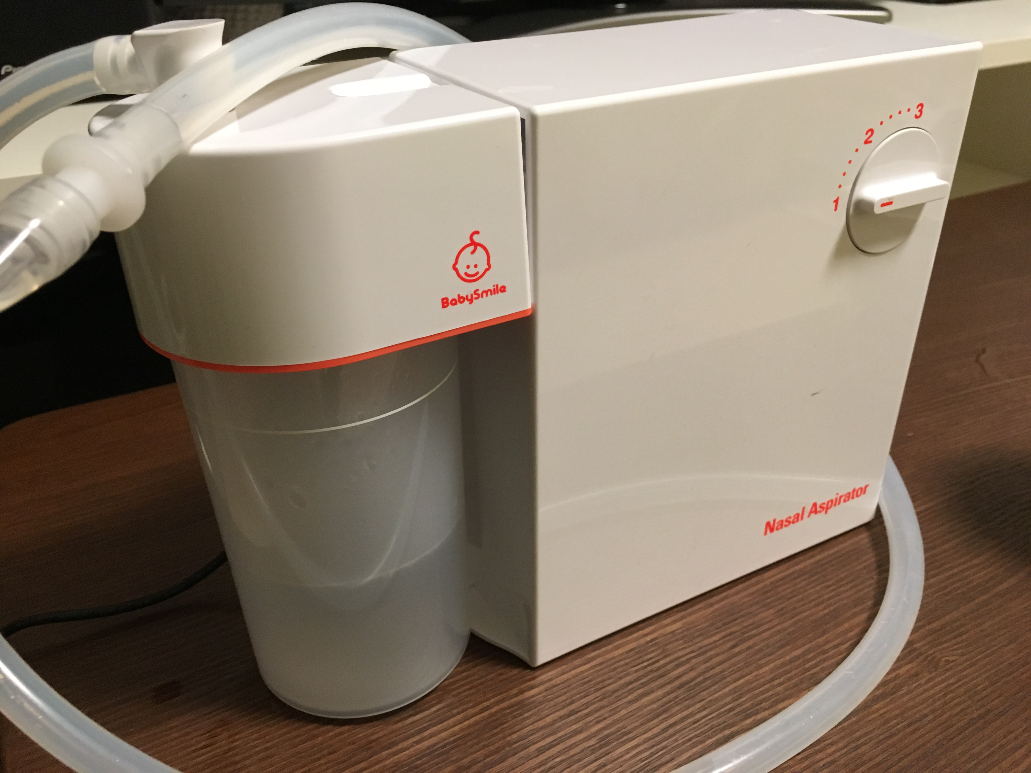 メルシーポットS-502の口コミ評判!赤ちゃんの中耳炎対策に電動鼻水吸引器を購入!
