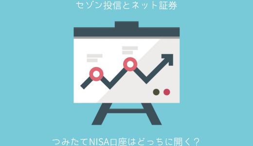 セゾン投信につみたてNISAの口座を開設するメリット・デメリット!ネット証券との比較